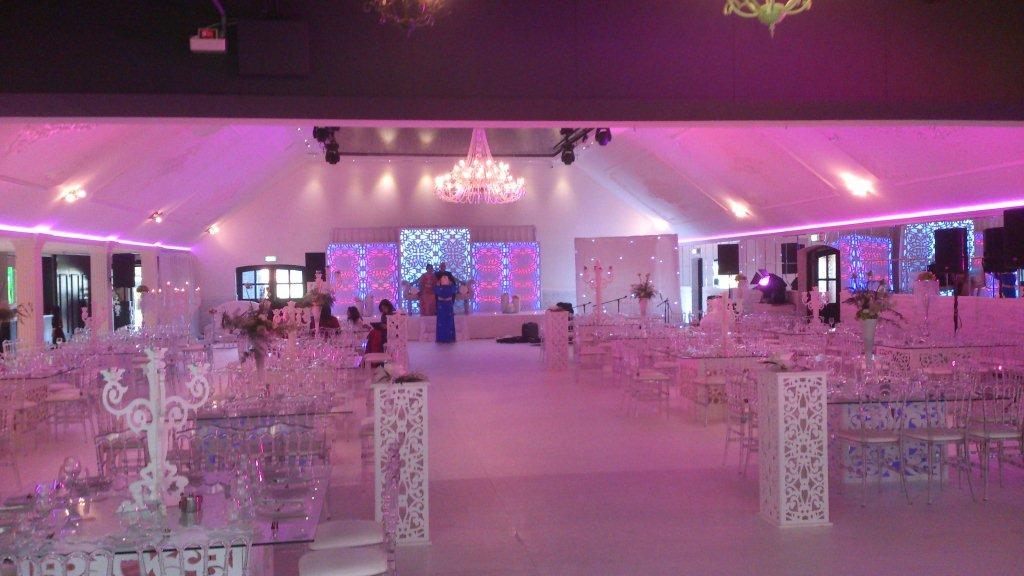 Voorbereiding Marokkaanse bruiloft